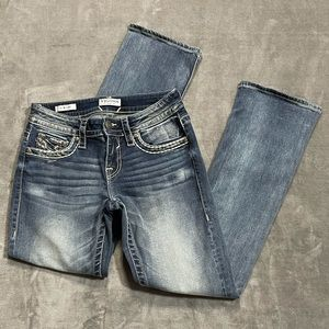 Vigoss Medium Wash Slim Boot Jeans!
